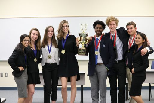 Ethics Bowl Team Wins Top Award