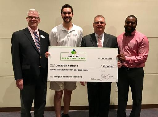 Student Awarded $20,000 Budget Challenge Scholarship