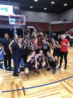 Girls' Basketball Team Wins State Title