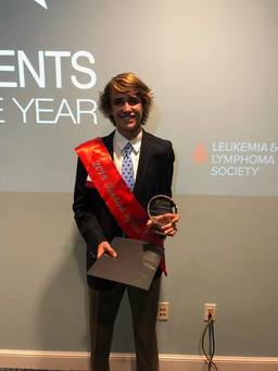 Max McGould wins LLS Student of the Year