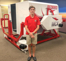 Student Earns Pilot's License