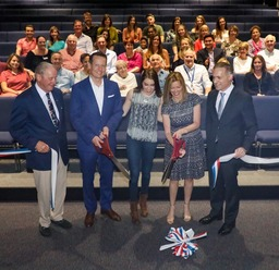 Boynton Family Donates Seating for Theater