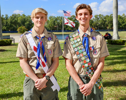 Oxbridge Students Achieve Eagle Scout Status